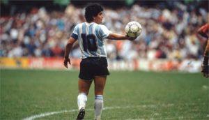 maradona number 10