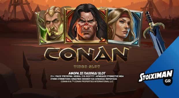 "video-slot ""Conan"""